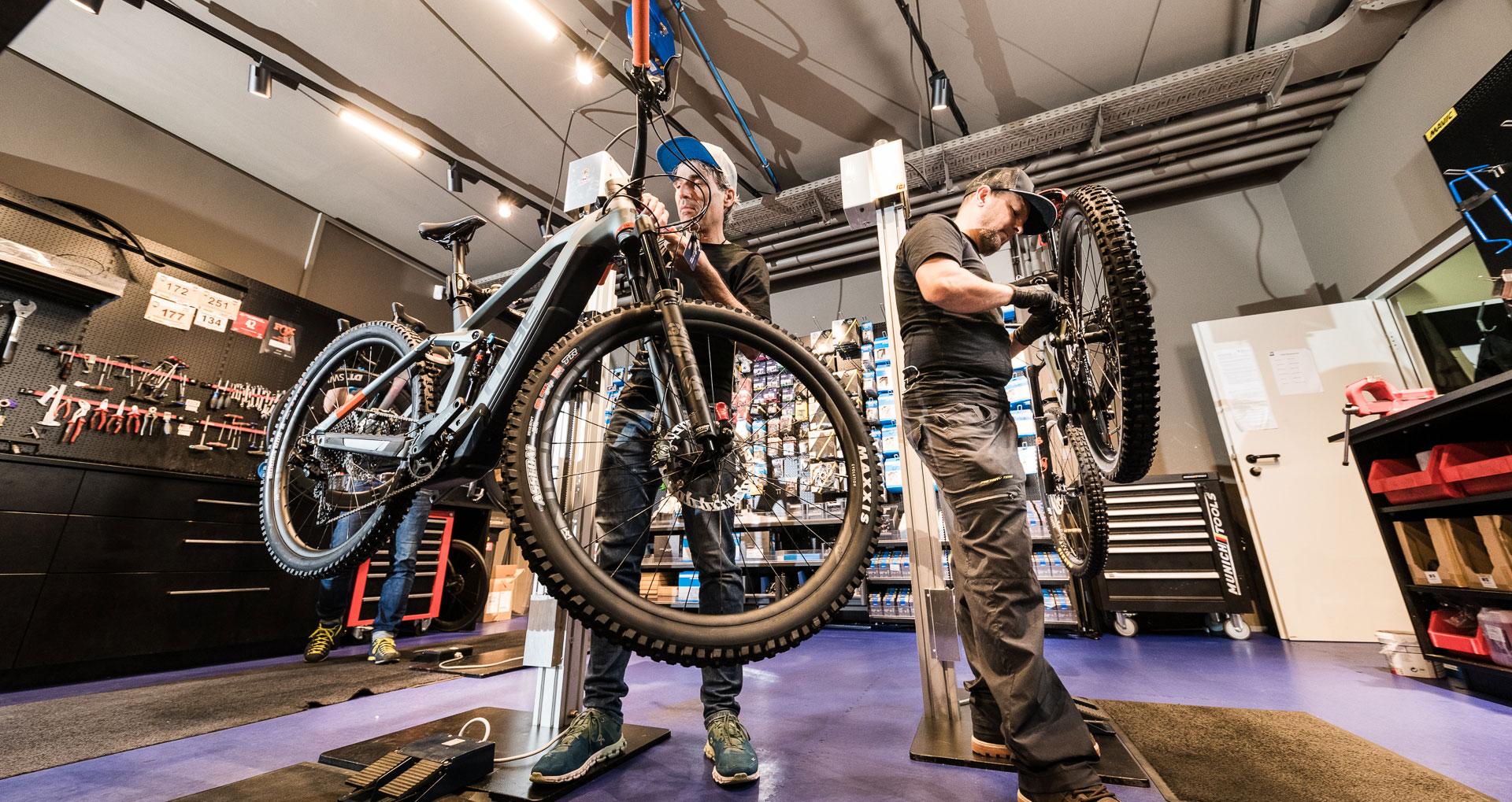 Bike Service Point Werkstatt